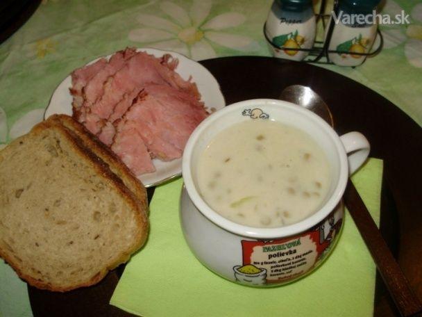 Šošovicová polievka kyslá (fotorecept)