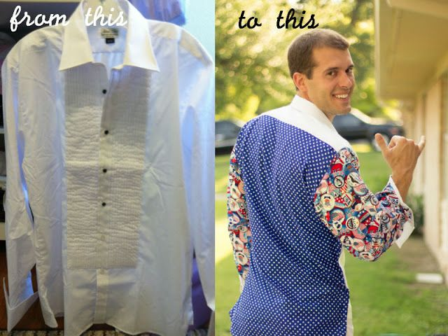 Home Sweet Holmes: DIY: Mess Dress Party Shirt