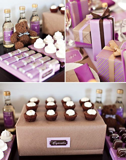 A Sophisticated Soiree: Chic Baby Girl Baby Shower