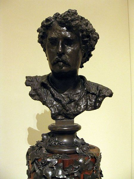 """Vincenzo Gemito: """"Bust of Mariano Fortuny"""""""