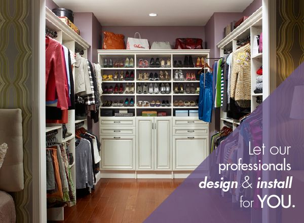 ClosetMaid® MasterSuite® Is A Luxurious Storage And Organization System,  That Can Be Designed