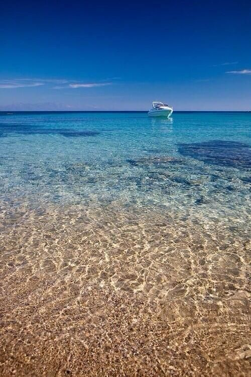 Crystal waters - Rhodes, Greece