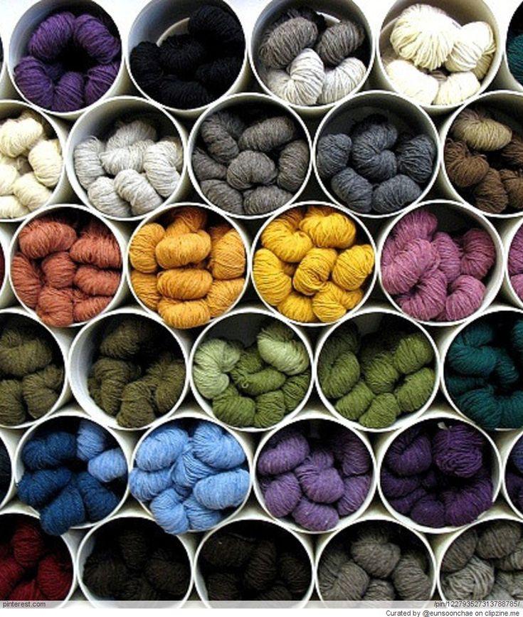 Great Yarn Storage Ideas Dollarama Garbage bins?