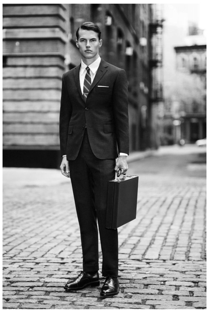 Thom Browne Introduces New Line for Fall/Winter 2014 image thom browne fall winter 2013 collection 0001