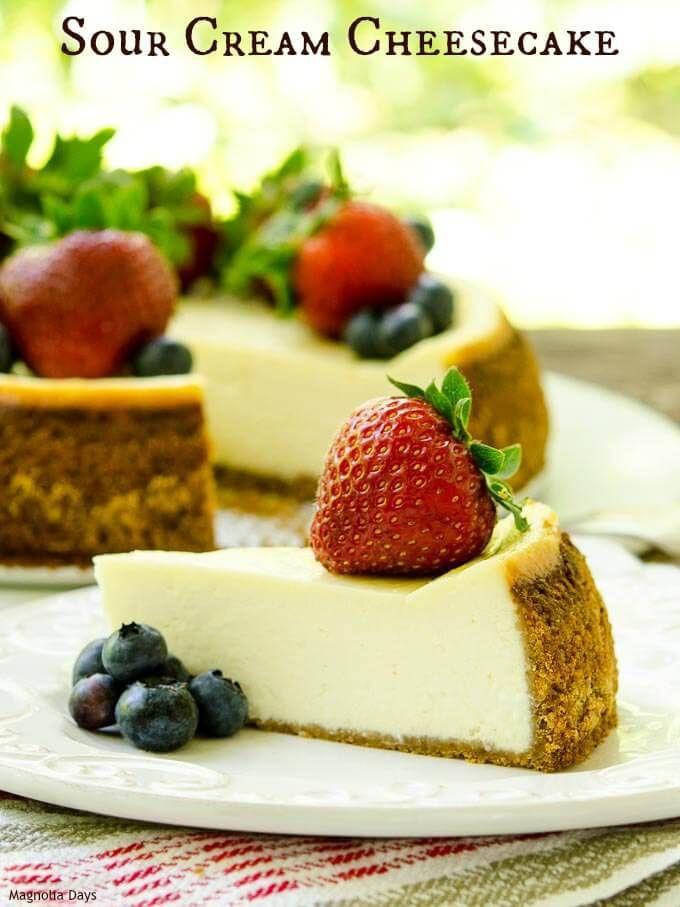 Sour-Cream-Cheesecake