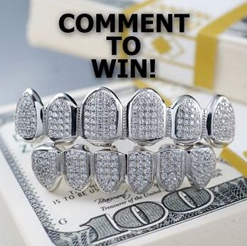 Custom Gold Grillz - Win 1 of 3 sets of sterling silver grillz - http://sweepstakesden.com/custom-gold-grillz-win-1-of-3-sets-of-sterling-silver-grillz/