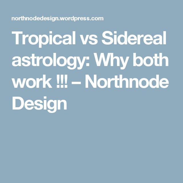 Tropical vs Sidereal astrology: Why both work !!! – Northnode Design