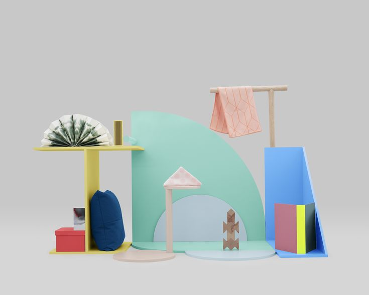 Genius products and styling from Danish brand HAY.