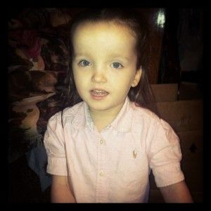 When Emma was about a year we had been noticing things didn't come so easy for her. She wasn't as far developmentally as she should have been...the doctor diagnosed autism... we had lots of bloodwork done  and it came back that Emma had a PTEN gene mutation.  http://ptenlife.com/emmas-story/