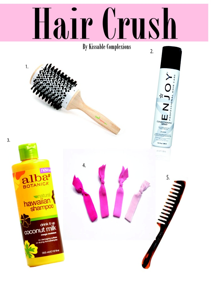 Favorite hair products and quick healthy hair tips!