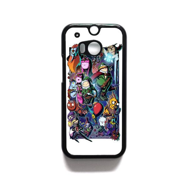 Adventure Time Wow 2 HTC One M7 M8 iPod Touch 4 5 Case Cover