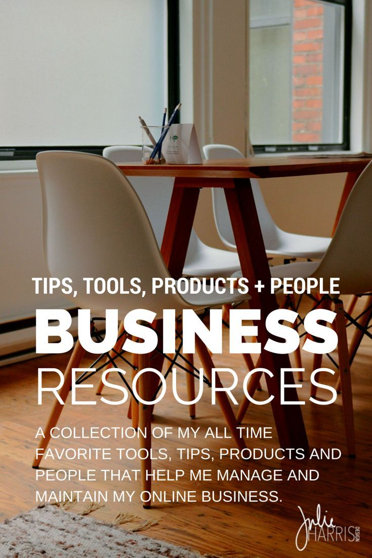 Online Business Resources: A collection of my all time favorite tools, tips, products and people. From free downloads, worksheets, workbooks, e-courses, editorial calendars, people, products, and words of wisdom. This is my mega library of creative support that I use to run my online business.   Julie Harris Design
