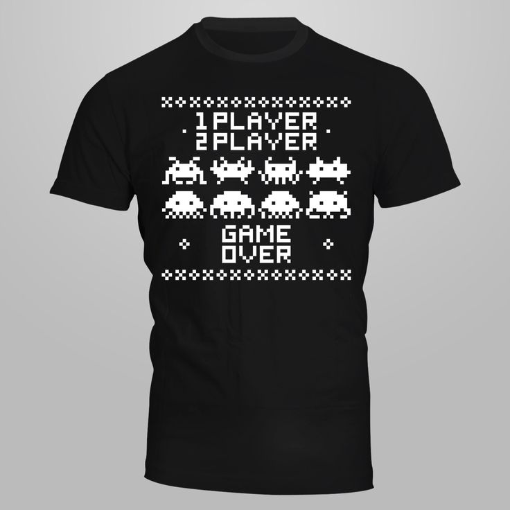 Space Invaders-Heavy Cotton Classic Fit Adult T-Shirt silkscreen by AceCustomsSilkscreen on Etsy