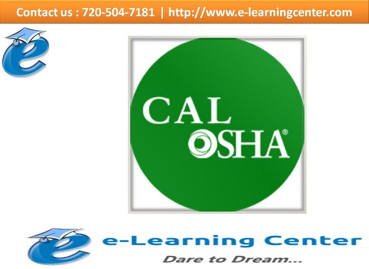 https://flic.kr/p/MWxnog | Personal Protective Equipment – Cal-OSHA - Health and Safety Courses | Follow Us On :  www.e-learningcenter.com  Follow Us On :  www.facebook.com/elearningcenter1  Follow Us On :  twitter.com/ELearningCntr  Follow Us On :  instagram.com/elearningcenter
