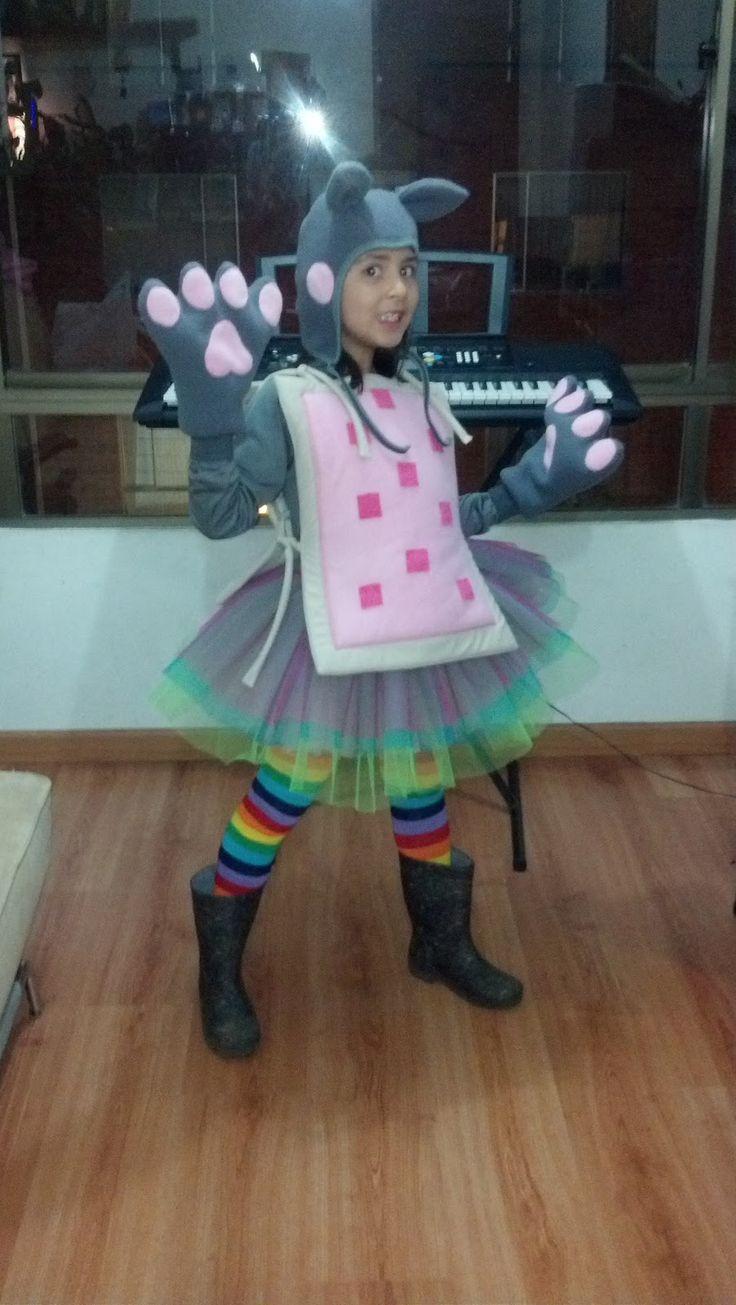 Pony Costume Ideas Best 25 Nyan Cat Costume Ideas On Pinterest Nyan Nyan Nyan Cat