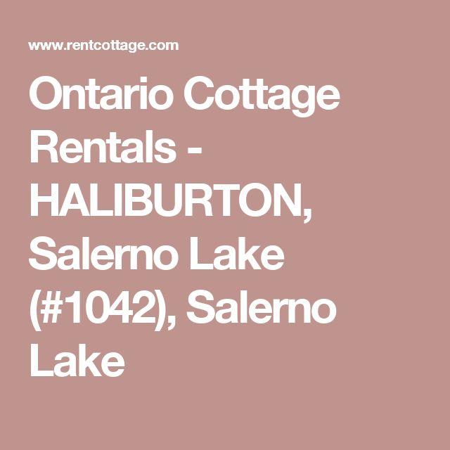 Ontario Cottage Rentals - HALIBURTON, Salerno Lake (#1042), Salerno Lake
