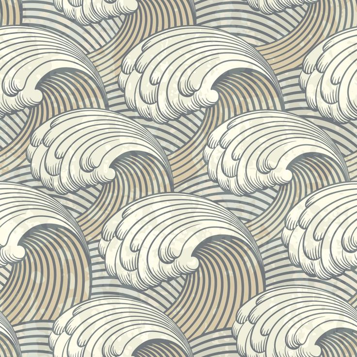 Waves Pattern PPT PPT Backgrounds - Grey, Pattern, White - Powerpoint Backgrounds