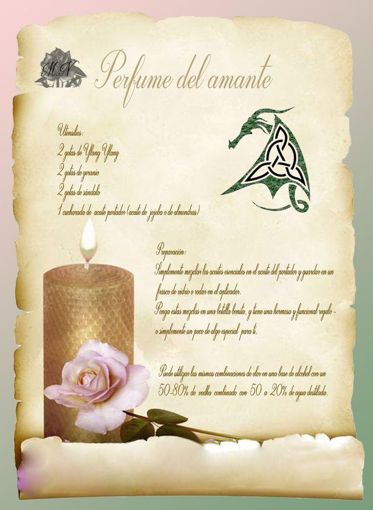 Trastos de Bruja: Perfume del Amante