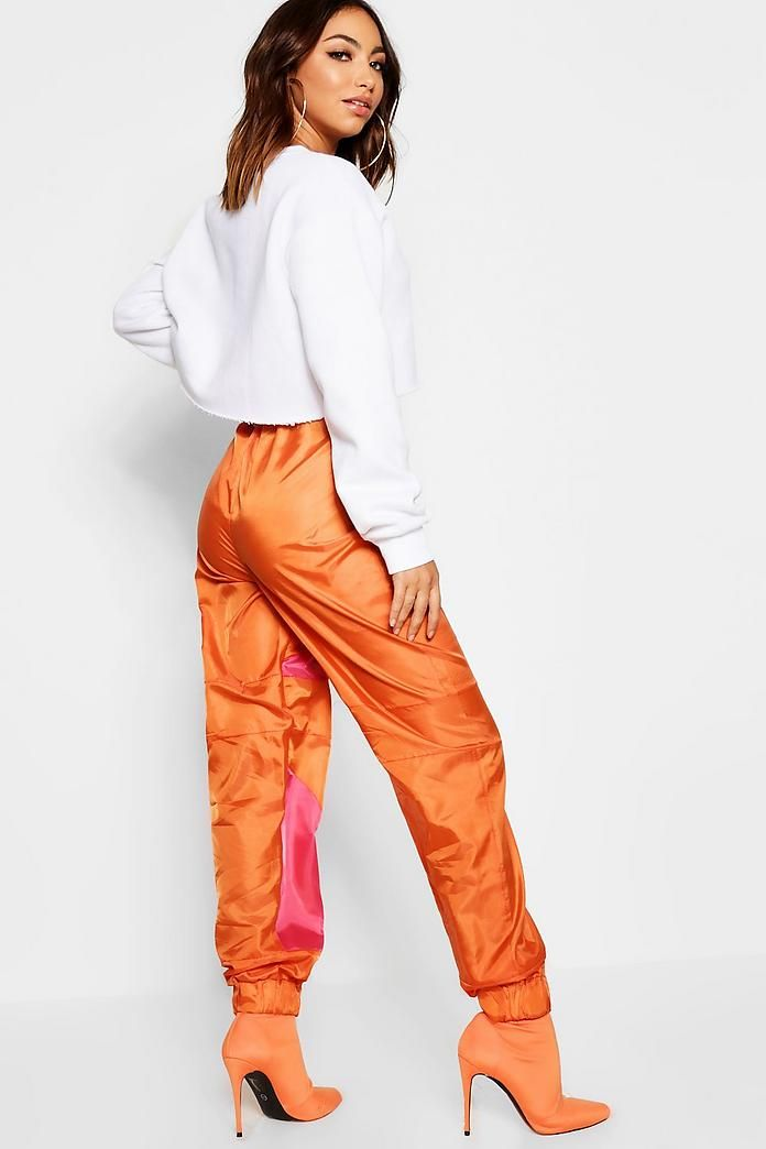 5fe4a1330cb5 Shell Suit Contrast Panel Jogger in 2019 | styles to follow | Shell ...