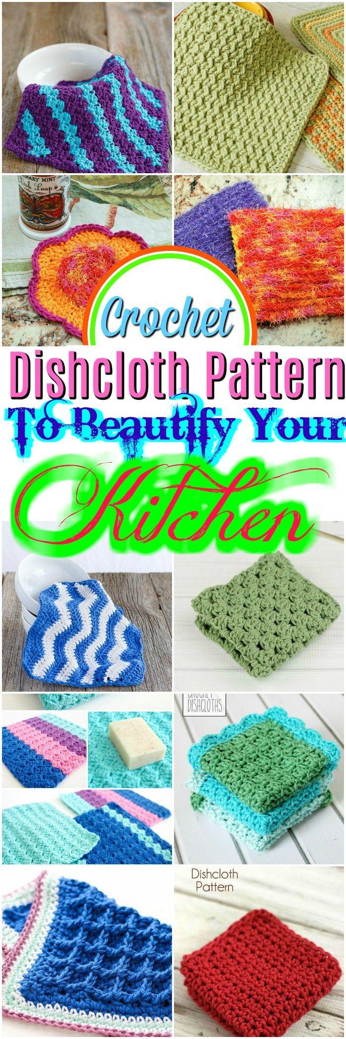Fine Häkeln Dish Scrubbie Muster Images - Decke Stricken Muster ...