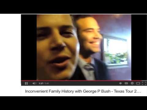 MUST WATCH ALL OF IT - George P. Bush Confronted on Family's Nazi Banking Past   (his middle name is prescott)    TEXAS LAND GENERAL IS STEWARD OF SCHOOLS, LAND & WATER -- HE'LL RUN FOR GOVENOR SOON.   BUSHS WILL NOT HELP RAND PAUL -- WAKE UP,  RAND  -- THEY'RE BEHIND THE PEOPLE WHO TRIED KEEPING CRUZ OUT OF THE U.S. SENATE http://potentnews.com/2014/02/18/rising-hispanic-star-george-p-bush-confronted-on-familys-nazi-banking-past/
