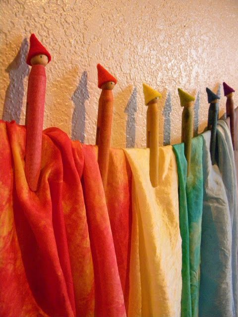 gnome clothespins