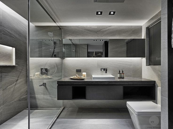 Excellent Brown Modern Bathrooms Also Small Modern Bathroom