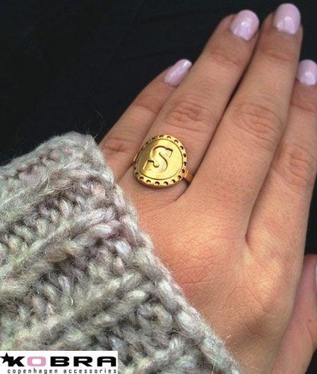 Guld ring / signet ring