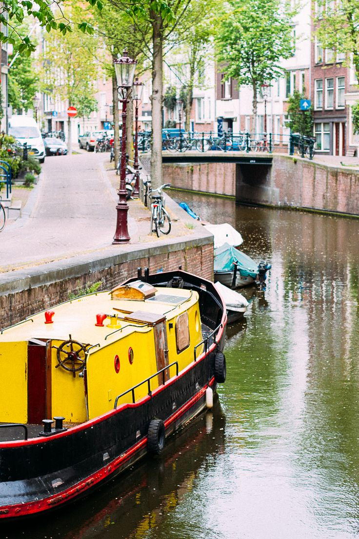 inspiration Cachemire et soie - Les canaux d'Amsterdam