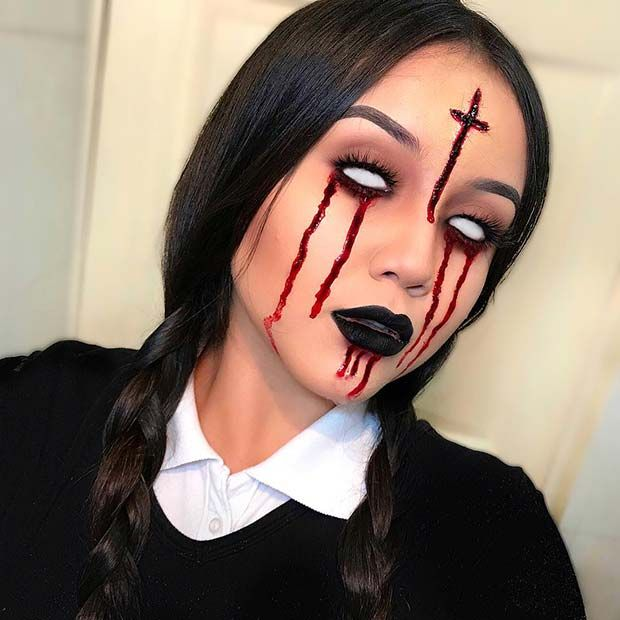 23 Devil Makeup Ideas for Halloween 2019