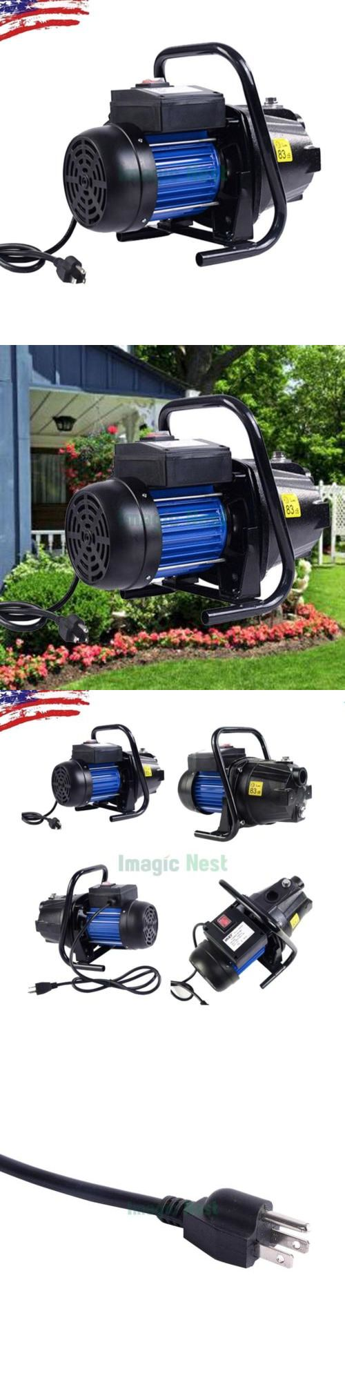 Other Watering Equipment 29522: Water Booster Pump 1200W 1 Shallow Well Home Garden Irrigation 1000Gph Draining -> BUY IT NOW ONLY: $68.88 on eBay!