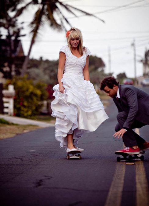 photo picture events wedding dress vestido bride novia groom novio skate marriage casados married fotografía eventos bodas miraquechulo