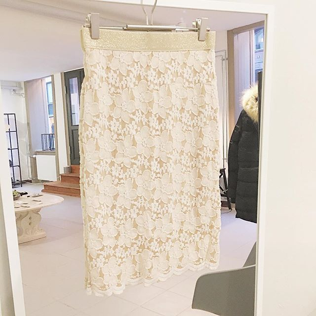 Ivory Blonde Skirt 450DKK #SMUSMY