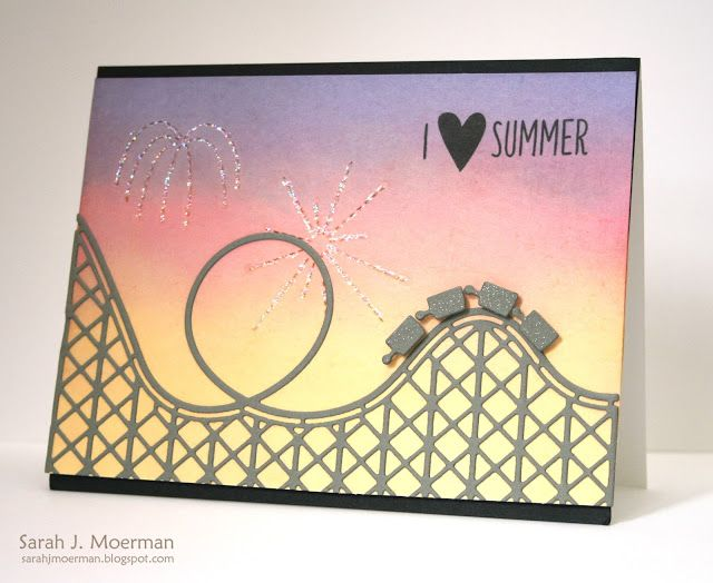 Simon Says Stamp ROCKIN ROLLER COASTER s297 Wafer Thin Dies The Color of Fun at Simon Says STAMP!
