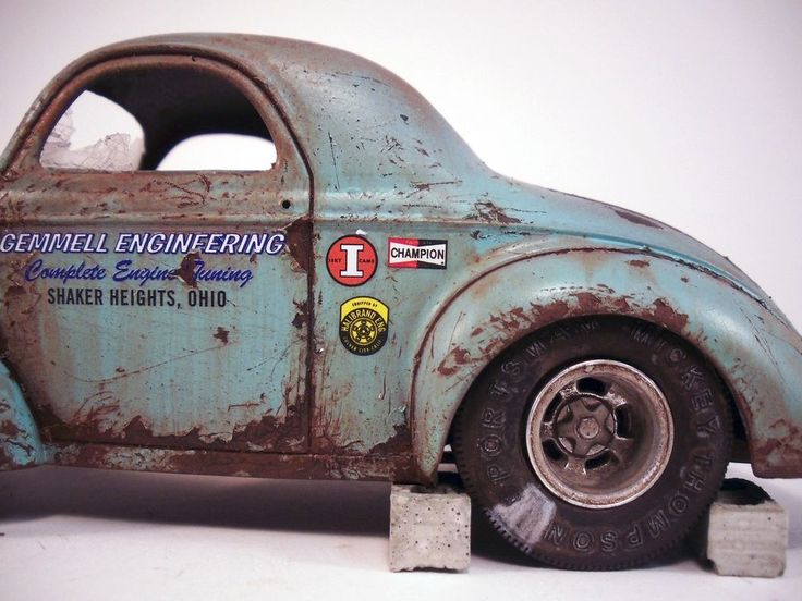 1941 Willys Coupe Pro Street Built Weathered Barn Find