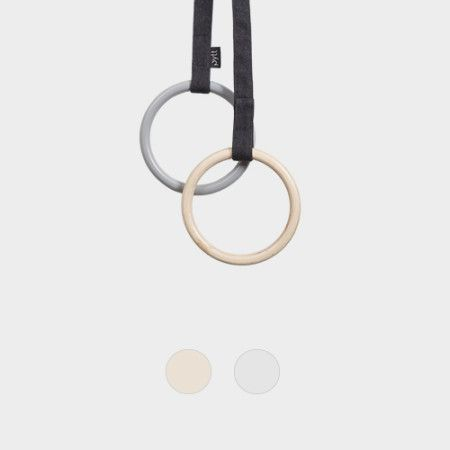 Scarf Ring from PYTT Living available in two colors.