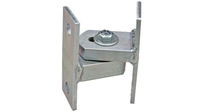 Note: Sold Individually Slightly smaller than the Baby BadAss Gate Hinge, the Bolt-On Baby is ideal for smaller gates where welding to the frame or post is not an option. Like all of Shut It's hinges,