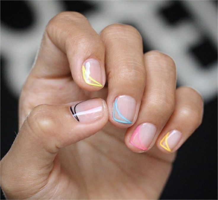 100+ Chic And Modern Nail Art Designs Ideas #nail_art_design #trendy_nails #chic…