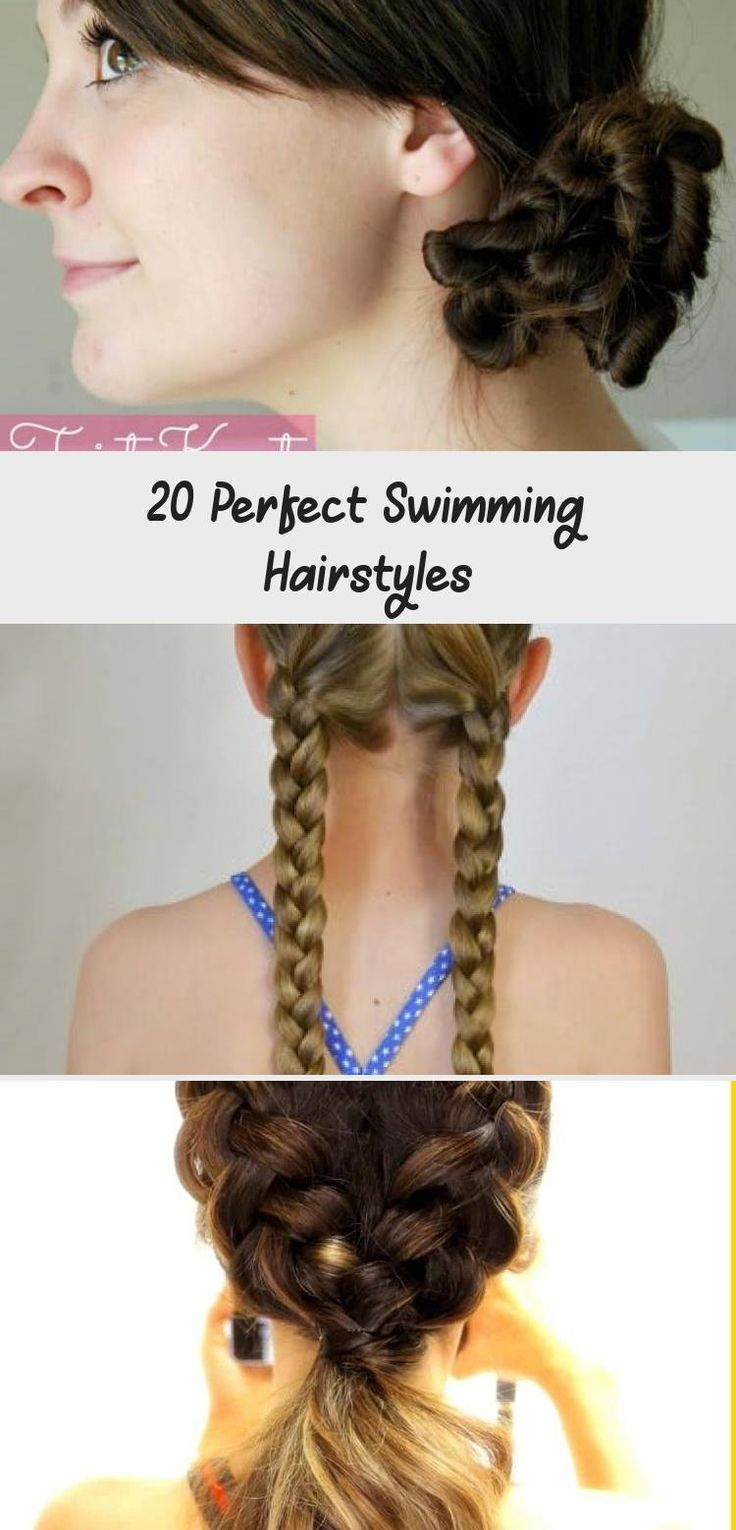 20 Perfect Swimming Hairstyles   Hair styles, Swimming ...