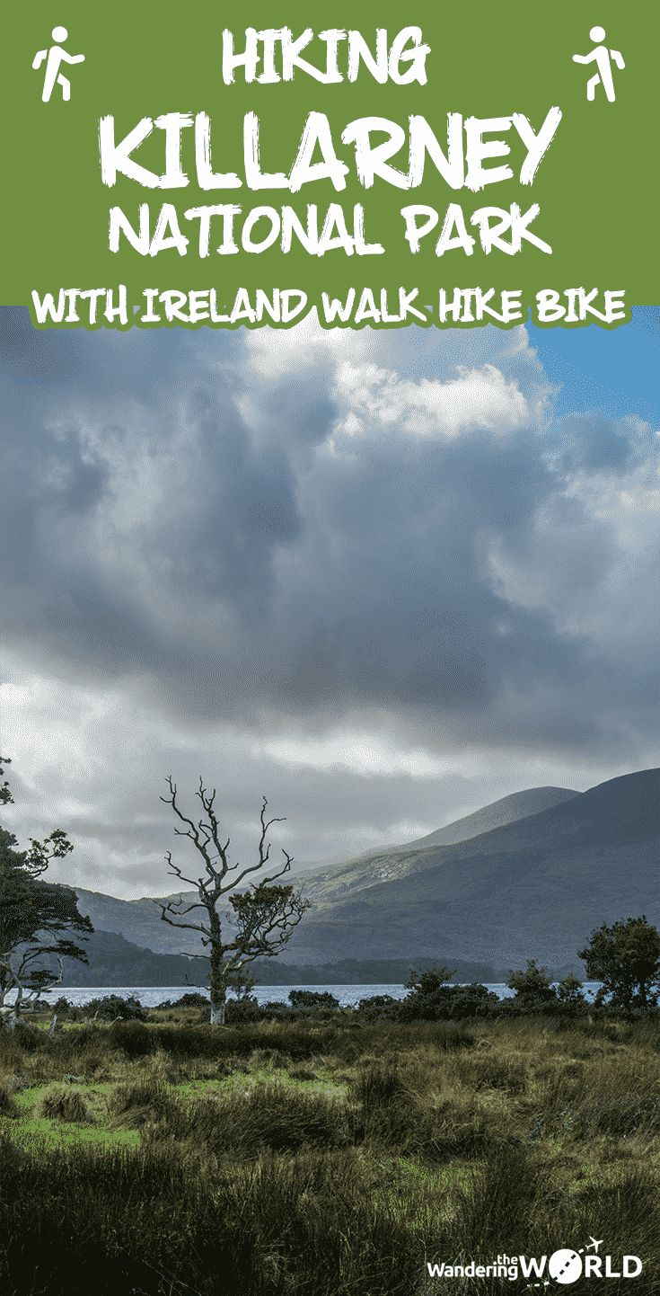 Hiking Killarney National Park with Ireland Walk Hike Bike - Ireland, Europe - Wandering the World - #hiking #killarneynationalpark