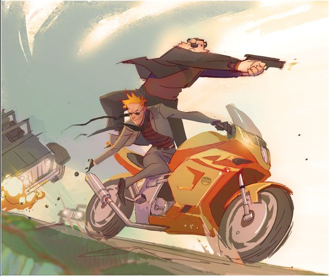 calvin and hobbes: mission impossible