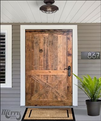 Victorian X Barn Door By The Merry Barn Melbourne Based