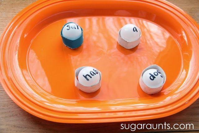 Sugar Aunts: Sight Word Ping Pong Bounce Game