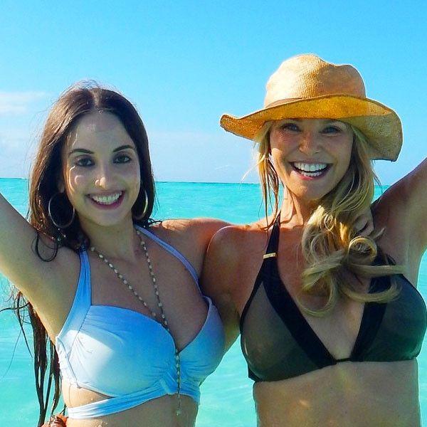 Christie Brinkley and Alexa Ray Joel Prove Great Bikini Bodies Run in the…