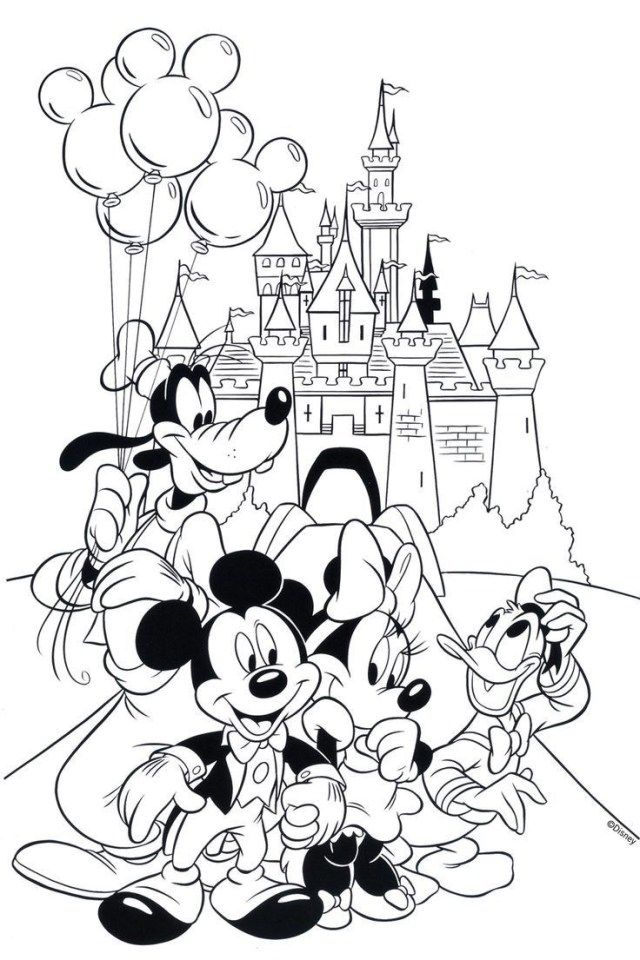 - 21+ Inspired Image Of Free Printable Coloring Pages For Kids -  Entitlementtrap.com Cartoon Coloring Pages, Mickey Mouse Coloring Pages,  Disney Coloring Pages