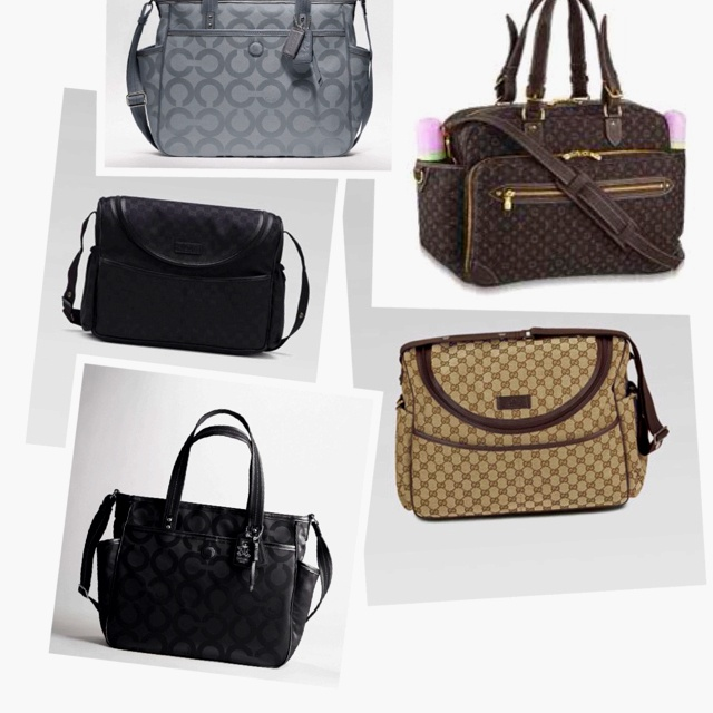 How can you not love name brand diaper bags...ahhhhh! :)