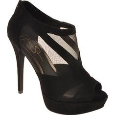 98.00 Jessica Simpson - The Belindas is an elegant heel with stylish cut-outs. The perfect party accessory with zipper entry at heel.