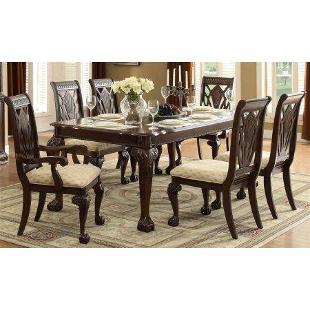 7-Pc Traditional Dining Table Set - Walmart.com