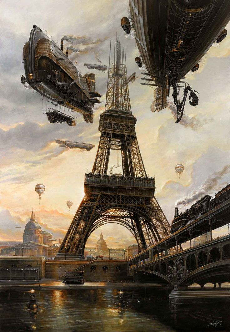 steampunktendencies:  La Tour - Didier Graffet
