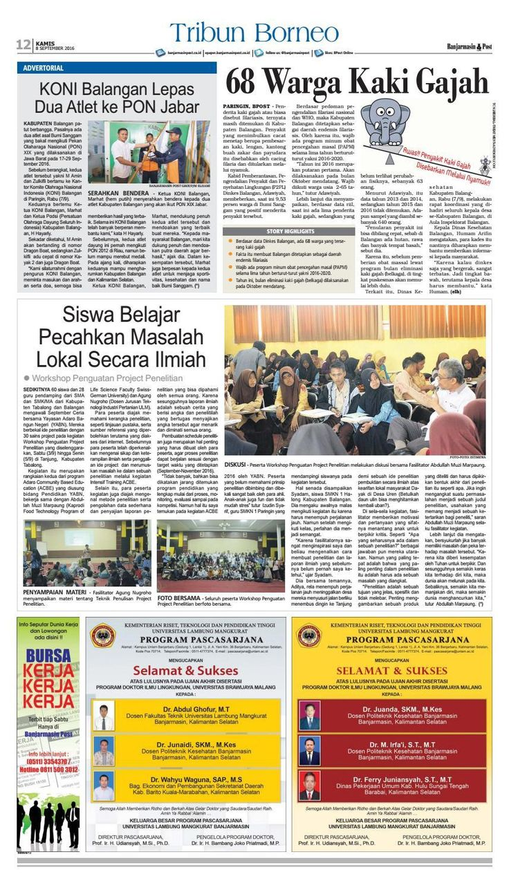 #ClippedOnIssuu from Banjarmasin Post Kamis 8 September 2016